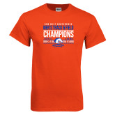 Orange T Shirt-2017 Mens Track and Field Champions