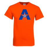 Orange T Shirt-A with Star