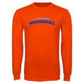 Orange Long Sleeve T Shirt-UTA Mavericks stacked
