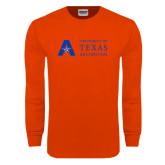 Orange Long Sleeve T Shirt-Secondary Mark