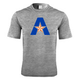 Performance Grey Heather Contender Tee-A with Star