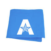 Light Blue Sweatshirt Blanket-A with Star
