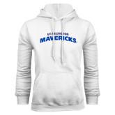 White Fleece Hood-UT Arlington Mavericks