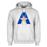 White Fleece Hoodie-A with Star