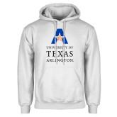 White Fleece Hoodie-University of Texas Arlington Stacked