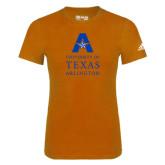 Adidas Orange Logo T Shirt-Primary Logo