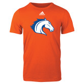 Adidas Orange Logo T Shirt-Horse Head