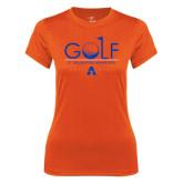 Ladies Syntrel Performance Orange Tee-Golf Flag