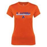 Ladies Syntrel Performance Orange Tee-Volleyball Shelf
