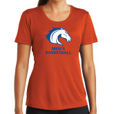 Ladies Syntrel Performance Orange Tee-Mens Basketball
