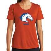 Ladies Syntrel Performance Orange Tee-Mom