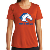 Ladies Syntrel Performance Orange Tee-Mens Tennis