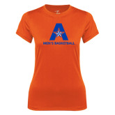Ladies Syntrel Performance Orange Tee-Mens Basketball