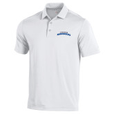 Under Armour White Performance Polo-UTA Mavericks stacked