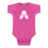 Fuchsia Infant Onesie-A with Star