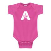 Fuchsia Infant Onesie-A with Star
