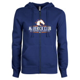 ENZA Ladies Royal Fleece Full Zip Hoodie-Maverick Club