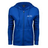 ENZA Ladies Royal Fleece Full Zip Hoodie-Secondary Mark