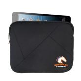 Neoprene Black Zippered Tablet Sleeve-Primary Mark
