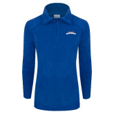 Columbia Ladies Half Zip Royal Fleece Jacket-UTA Mavericks stacked