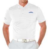 Callaway Opti Vent White Polo-UTA Mavericks stacked
