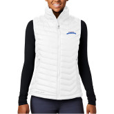 Columbia Lake 22 Ladies White Vest-UTA Mavericks stacked