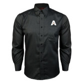 Red House Black Long Sleeve Shirt-A with Star