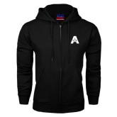 Black Fleece Full Zip Hood-A with Star