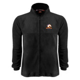 Fleece Full Zip Black Jacket-Mavericks