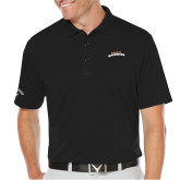 Callaway Opti Dri Black Chev Polo-UTA Mavericks stacked