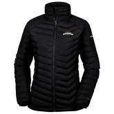 Columbia Powder Lite Ladies Black Jacket-UTA Mavericks stacked