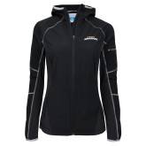Columbia Ladies Sweet As Black Hooded Jacket-UTA Mavericks stacked