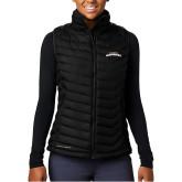 Columbia Lake 22 Ladies Black Vest-UTA Mavericks stacked