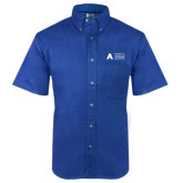 Royal Twill Button Down Short Sleeve-Secondary Mark