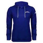 Adidas Climawarm Royal Team Issue Hoodie-UTA Mavericks stacked