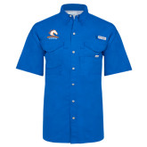 Columbia Bonehead Royal Short Sleeve Shirt-Primary Mark