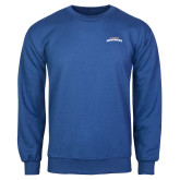 Royal Fleece Crew-UTA Mavericks stacked