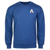Royal Fleece Crew-A with Star
