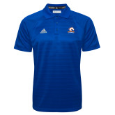 Adidas Climalite Royal Jaquard Select Polo-Primary Mark