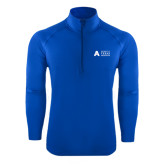 Sport Wick Stretch Royal 1/2 Zip Pullover-Secondary Mark