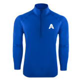 Sport Wick Stretch Royal 1/2 Zip Pullover-A with Star
