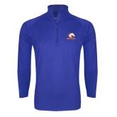 Sport Wick Stretch Royal 1/2 Zip Pullover-Mavericks