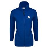 Columbia Ladies Full Zip Royal Fleece Jacket-A with Star
