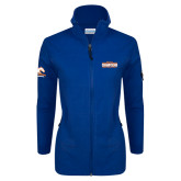 Columbia Ladies Full Zip Royal Fleece Jacket-2016-17 Regular Season Champions Mens Basketball