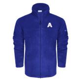Columbia Full Zip Royal Fleece Jacket-A with Star