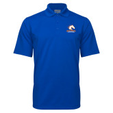 Royal Mini Stripe Polo-Primary Mark