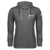 Adidas Climawarm Charcoal Team Issue Hoodie-Secondary Mark