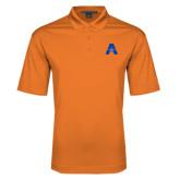 Orange Performance Fine Jacquard Polo-A with Star