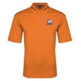 Orange Performance Fine Jacquard Polo-Mavericks