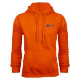 Orange Fleece Hood-Secondary Mark